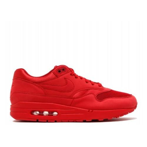 Men's Nike Air Max 1 PREMIUM UNIVERSITY RED 875844-600