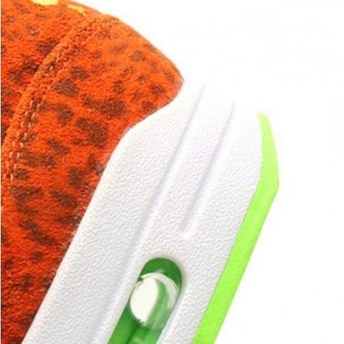 Men's Nike Air Max 1 Fb Orange Leopard 579920-881 Bright Citrus