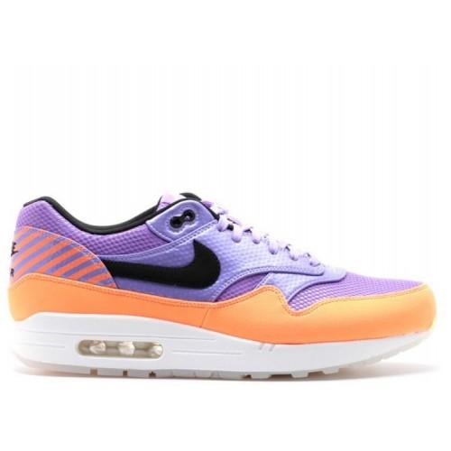 Men's Nike Air Max 1 Fb Premium Qs 665874-500 Atomic Violet Black
