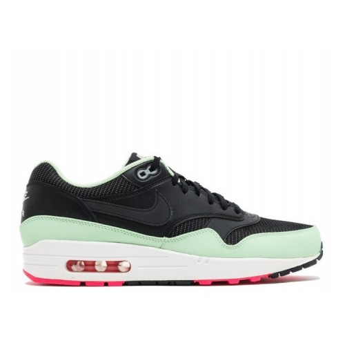 Men's Nike Air Max 1 Fb Yeezy Black Fresh Mint Pink Flash