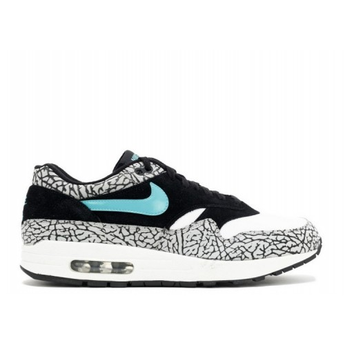 Men's Nike Air Max 1 Premium Atmos Black Clear Jade-White