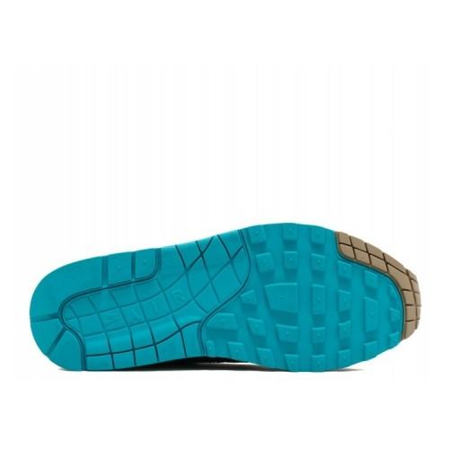 Men's Nike Air Max 1 Premium Ridgerock Ridgerock Turbo Green-Khaki