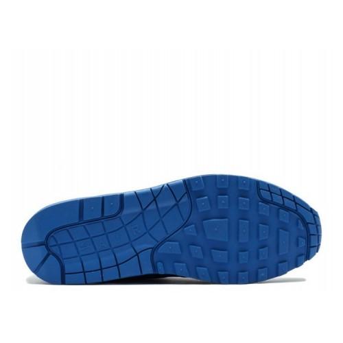 Men's Nike Air Max 1 Premium Tonal Blue Game Royal Neutral Grey