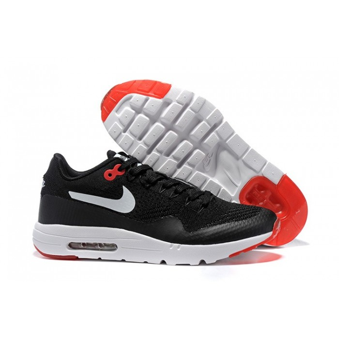 Men's Nike Air Max 87 Black Red White Running Shoes