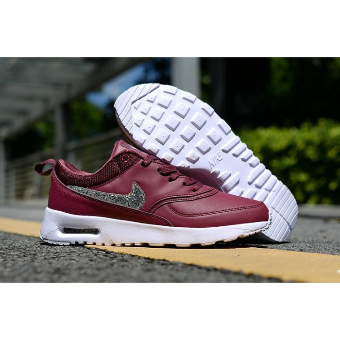 Men's Nike Air Max 87 Wine Red White