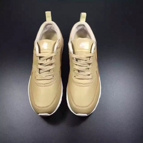 Women's Nike Air Max 87 Leather Golden White