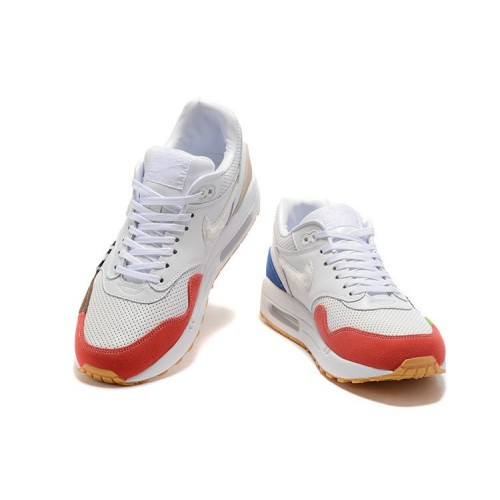 Women's Sale Nike Air Max 87 White Blue Orange Black Red