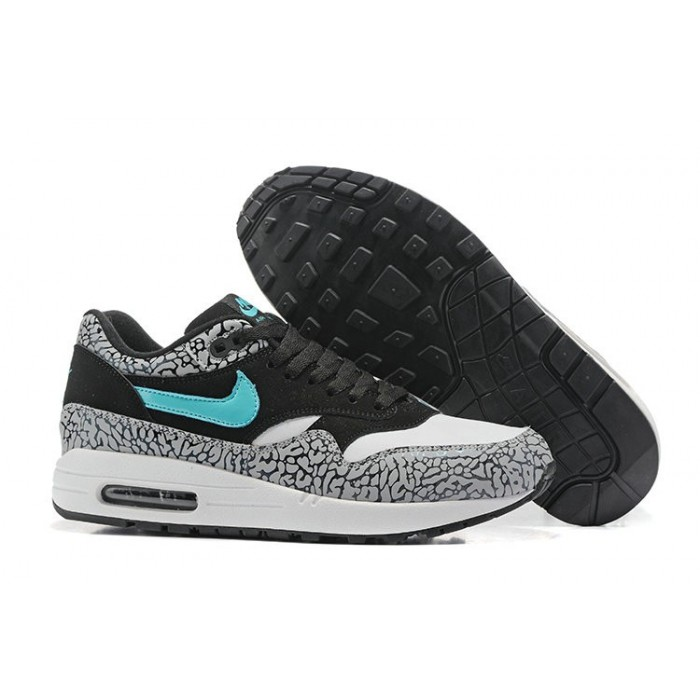 Men's Sale Nike Air Max 87 Black Grey Blue