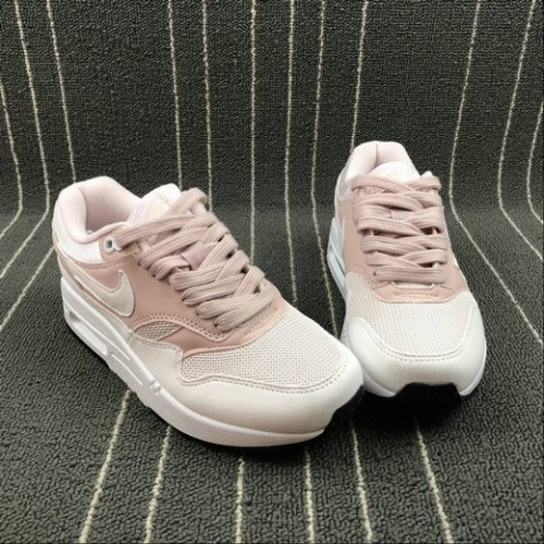 Women's NikeAir Max 1 87 319986-607 Barely Rose White A Peine