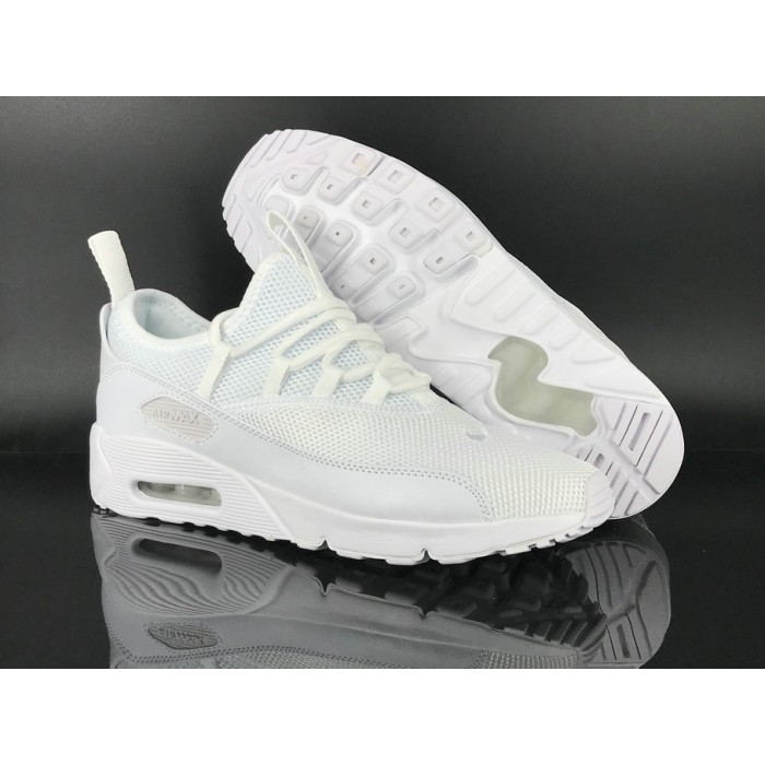 Men's 2018 Nike Air Max 90 EZ Triple White Sale