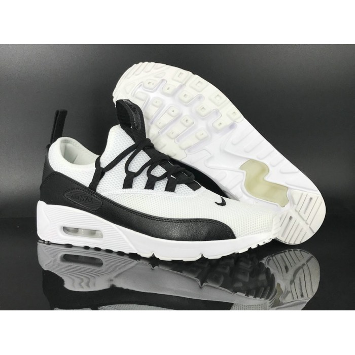 Men's 2018 Nike Air Max 90 EZ White Black