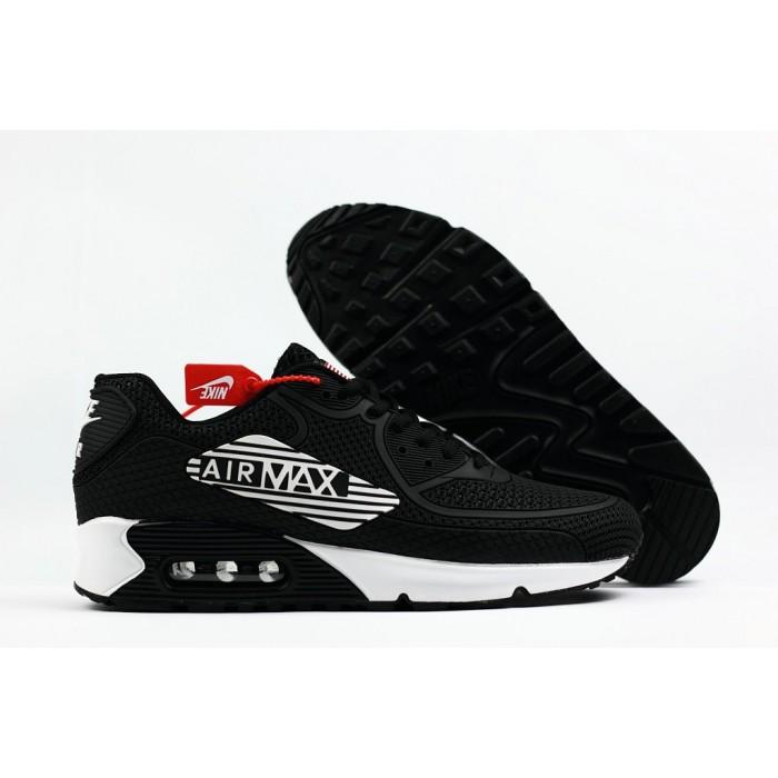 Men's 2018 Nike Air Max 90 Sneaker Boot Royal White Black