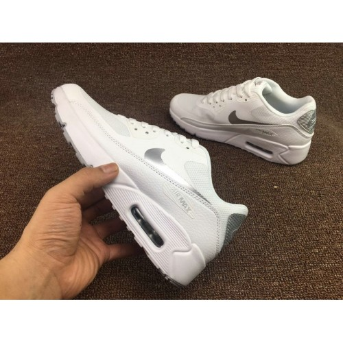 Men's Nike Air Max 90 Ultra 2.0 Essential Metallic Silver White