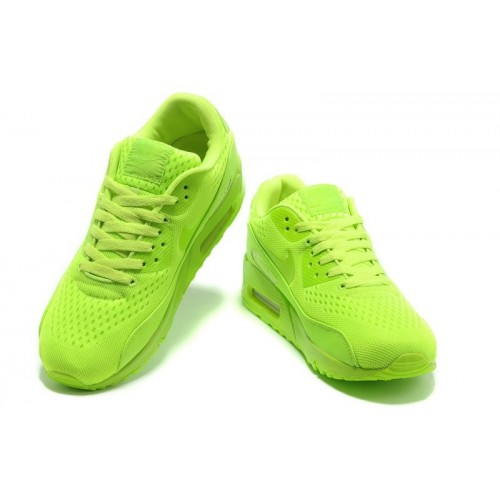 Men's Nike Air Max 90 shoe in All Green