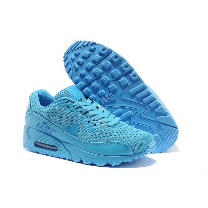 Men's Nike Air Max 90 Blue Shoes