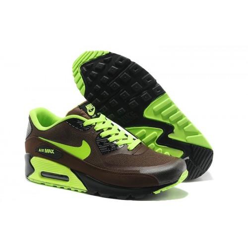 Men's Nike Air Max 90 Brown Green Black