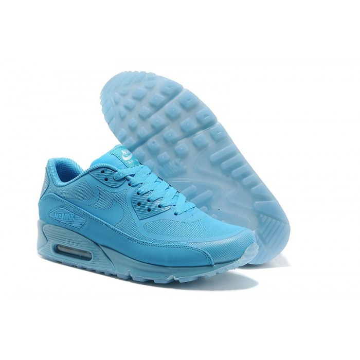 Men's Nike Air Max 90 Glow In Dark Blue