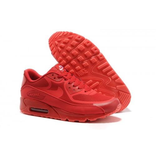 Men's Nike Air Max 90 Glow In Dark Red
