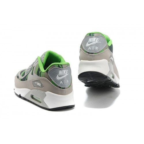Men's Nike Air Max 90 Grey Green Black White