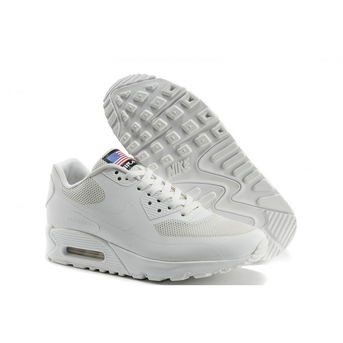 Nike Air Max 90 Red With Bule,Men's Nike Air Max 90 Hyperfuse Shoe ...