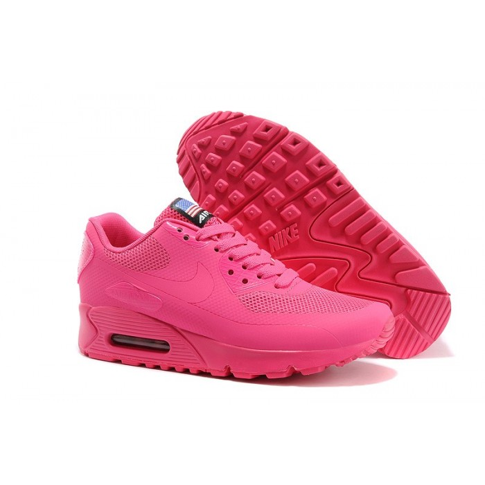 Women's Nike Air Max 90 Hyperfuse Red Pink