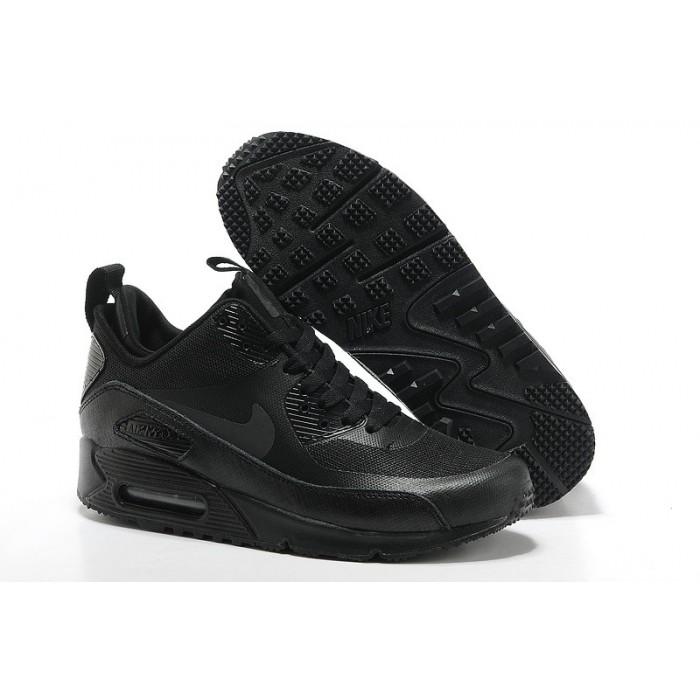 Men's Nike Air Max 90 Mid Men Black