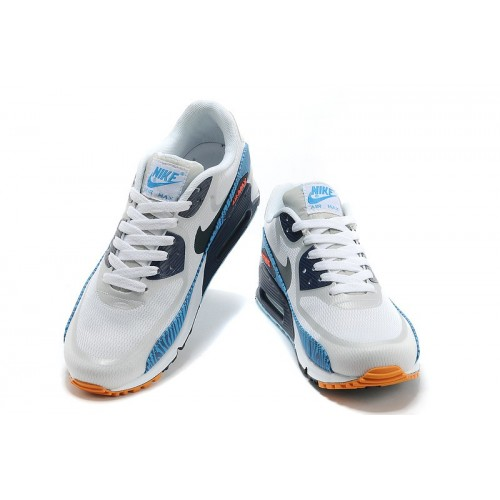 Men's Nike Air Max 90 Tape Blue White Black