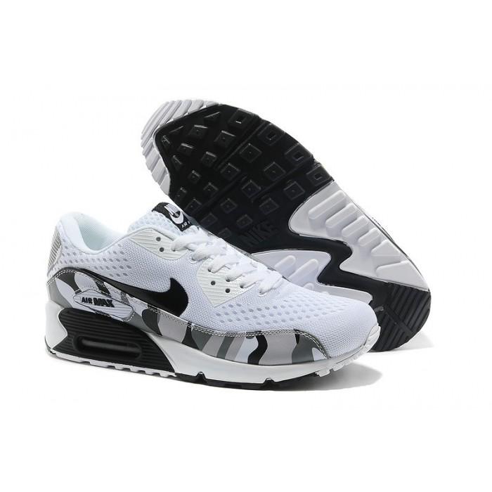Men's Nike Air Max 90 White Black