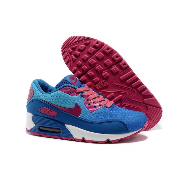 Women's Nike Air Max 90 Purple Blue White