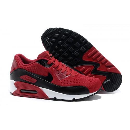 Women's Nike Air Max 90 Red Black White