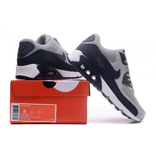 Women's Air Max x Nike Air Max 90 Cool Grey Navy Blue