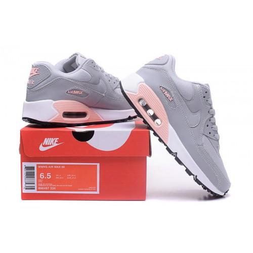 Women's Air Max x Nike Air Max 90 Grey Pink White