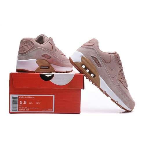 Women's Air Max x Nike Air Max 90 Pink Gold White