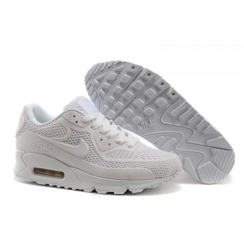 Men's Nike Air Max 90 All White