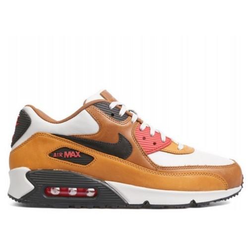 Men's Nike Air Max 90 Escape Qs 718303-002 Light Brown Black