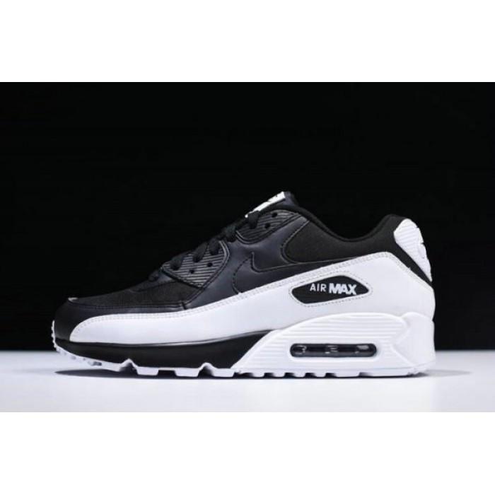 nike air max 90 essential black and white mens