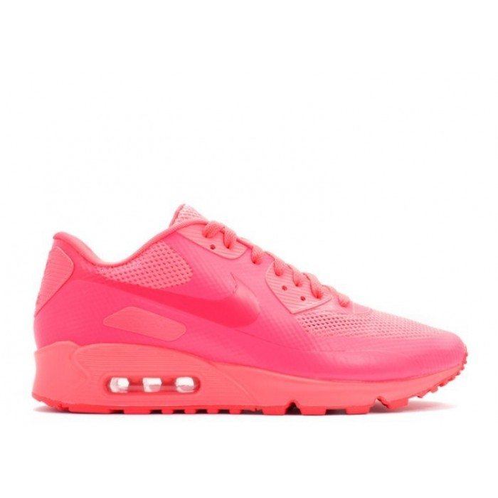 Men's Nike Air Max 90 Hyperfuse Prm 454446-600 Solar Red