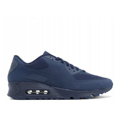 Men's Nike Air Max 90 Hyperfuse Qs Usa 613841-440 Midnight Navy