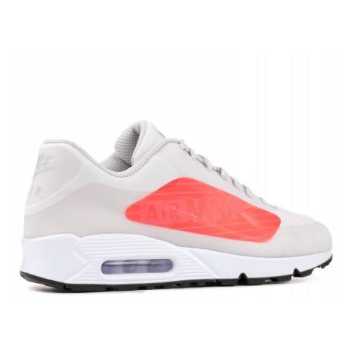 Men's Nike Air Max 90 Ns Gpx Neutral Grey Bright Crimson