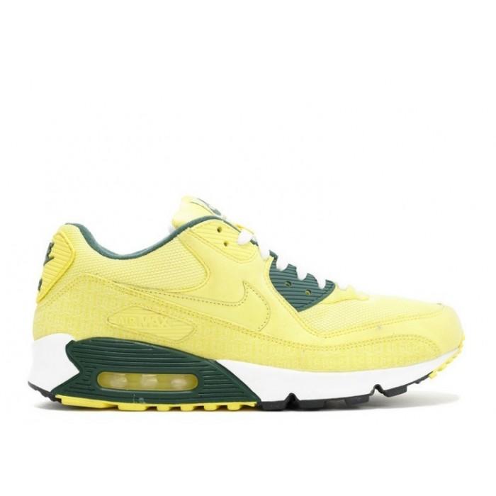 Men's Nike Air Max 90 Powerwall Lemonade Black Forest
