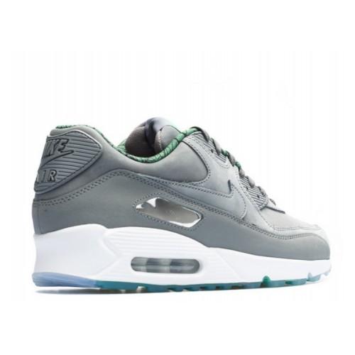 Men's Nike Air Max 90 Prm Qs Chicago Cool Grey Dark Grey