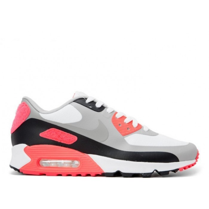 Men's Nike Air Max 90 Sp Infrared Patch 746682-106 White Cool Grey
