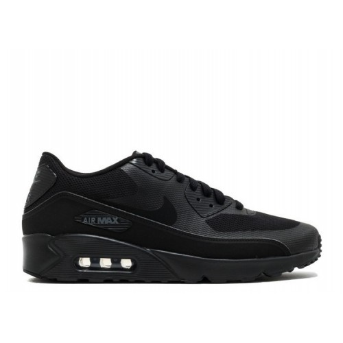 Men's Nike Air Max 90 Ultra Essential 2.0 Triple Black 875695-002