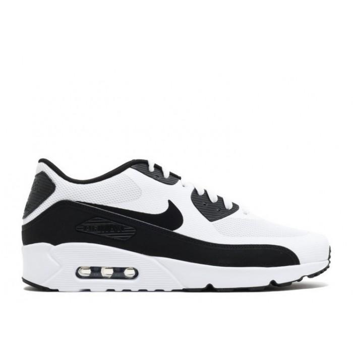 Men's Nike Air Max 90 Ultra Essential 2.0 White Black 875695-100