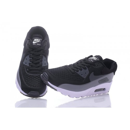Men's Nike Air Max 90 Ultra SE Black Grey White