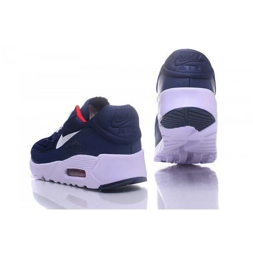 Men's Nike Air Max 90 Ultra SE Red Blue White