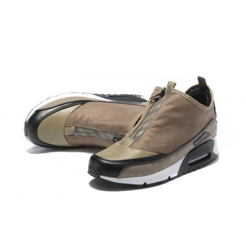 Men's Nike Air Max 90 Utility White Black Brown