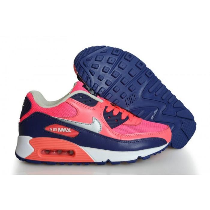 Women's Nike Air Max 90 Wome Blue Pink White