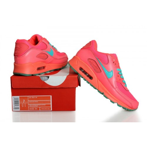 Women's Nike Air Max 90 Wome Pink Green
