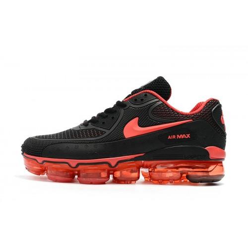 Men's Nike Air Max 90 x VaporMax University Red Black